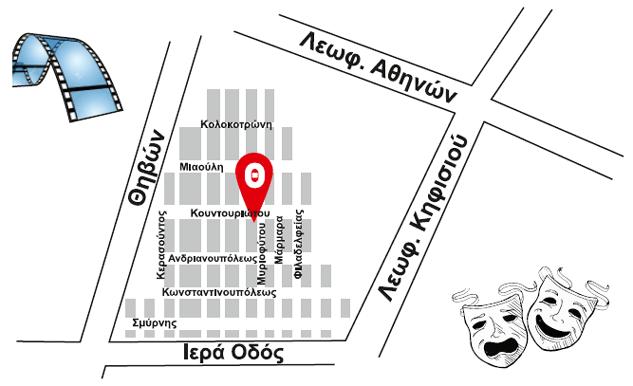 Χάρτης περιοχής